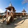 Сукко: Детский городок на пляже