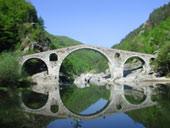 Восточные Родопи, мост через реку