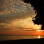 Закат в Пицунде