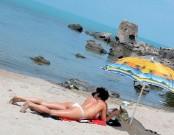 На пляже Созополя