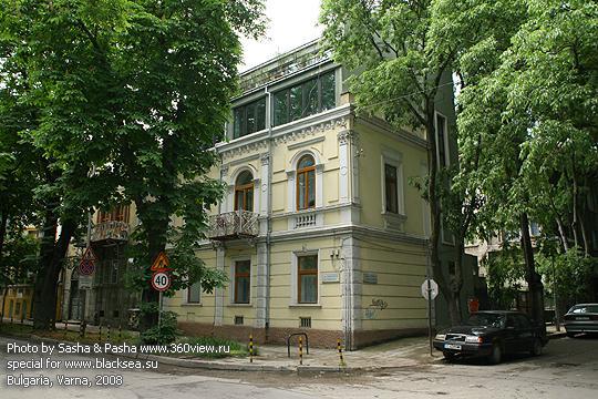 Приморский бульвар в Варне