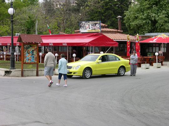 Такси по Болгарски, Золотые Пески