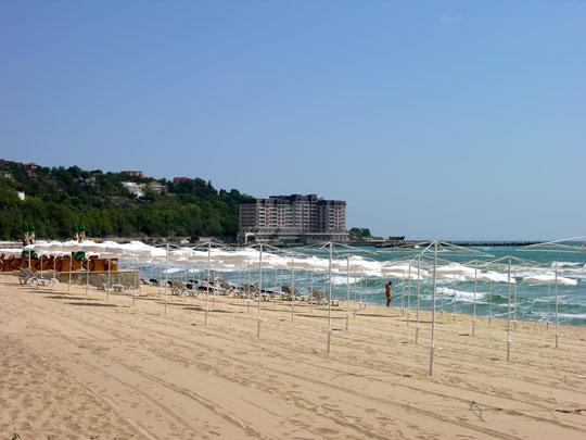Пляж, курорт Солнечный День