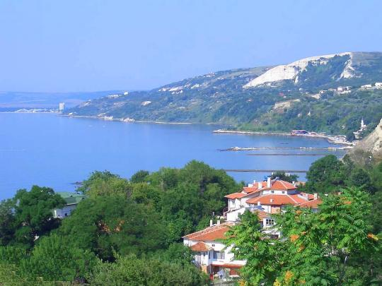 Вид на бухту Балчика