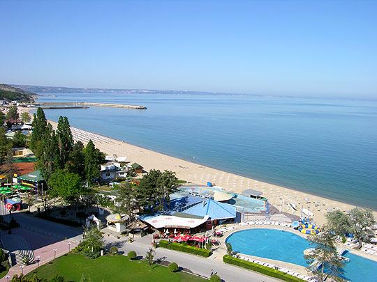 Пляж на Золтых Песках, Болгария