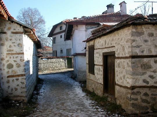 И такие улицы есть в Банско