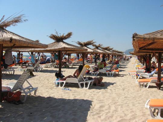 Пляжи Албены