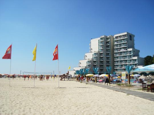 Гостиница на пляже