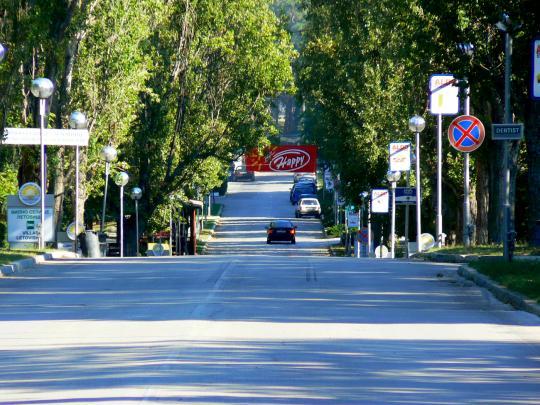 Дорога в Варне