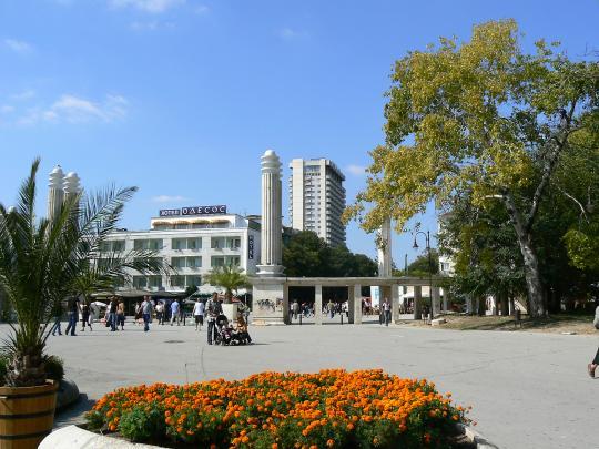 Площадь в Варне
