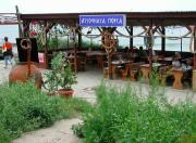 Кафе на берегу моря в Созополе