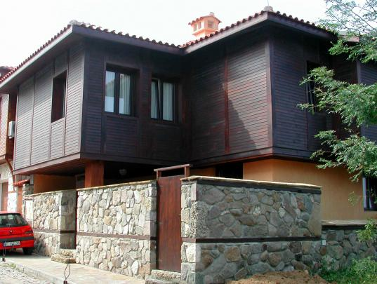 Созопол - местная архитектура
