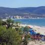 Пляж курорта Солнечный берег
