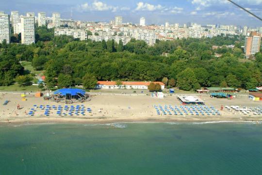 Пляж в Бургасе