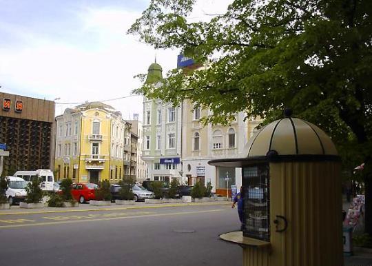 На улицах Бургаса