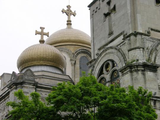 Купола собора в Варне