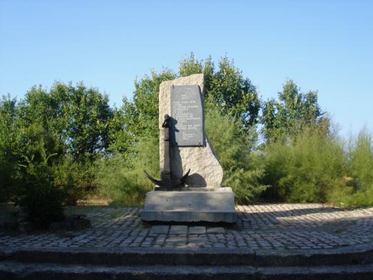 Памятник совестким воинам