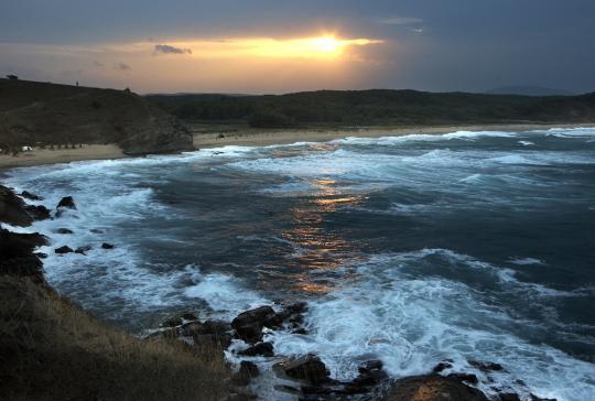 Закат в Синеморце, недалеко от Царева