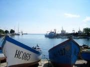 Рыбацкие лодки в Несебре