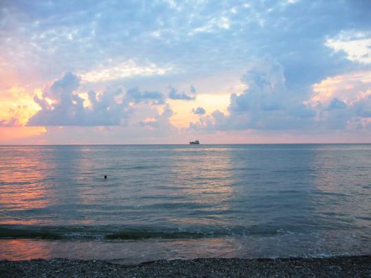 Черное море в Батуми