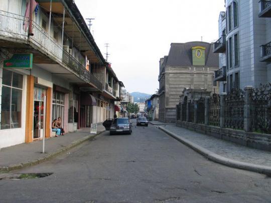 На улицах Батуми