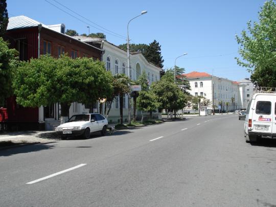 улица Агмашенебели, Почта