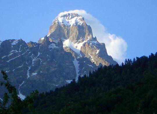 Гудаури, горы