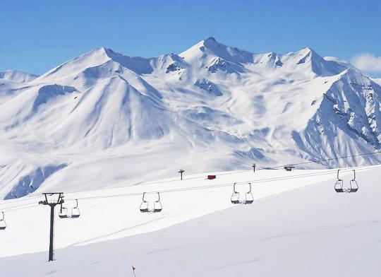 Бакуриани, горы