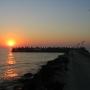 Закат на курорте Нептун