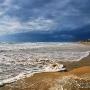 Анапа. Пляж. Март.