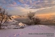 Высокий берег, Анапа, зима