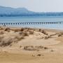 Пляж в Джемете. Весна.