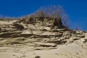 Бархан на пляже Джемете