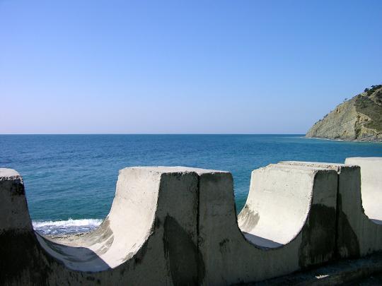 Черное море в Дюрсо