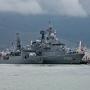 Два корабля НАТО ВМФ Турции в порту Новроссийска