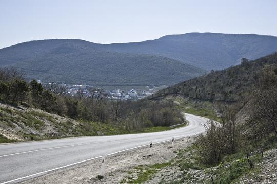 Дорога на Сукко из Анапы