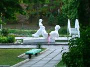 Парк в санаторий Дивноморска