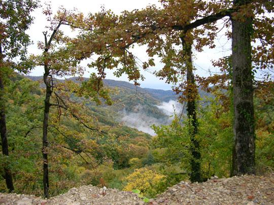 Осень в горах Сочи