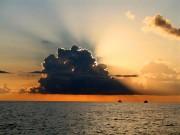 Закат на морем в Адлере