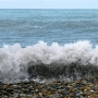 Черное море в Адлере
