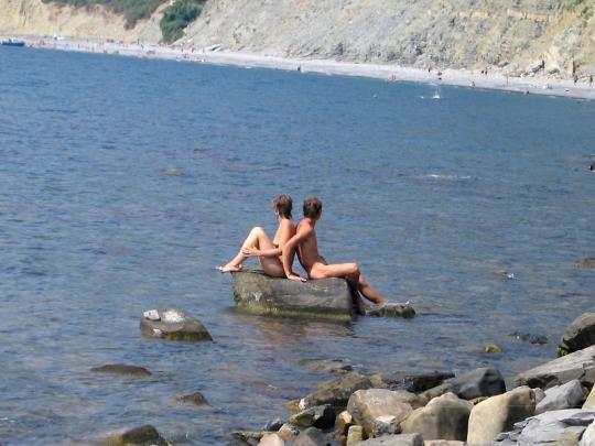 Нудистский пляж в Анапе
