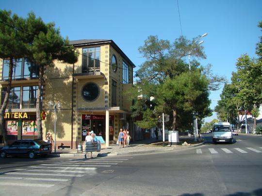 На улице в Анапе