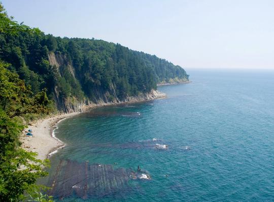 Вид со скалы Киселева