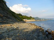 Ольгинка, пляж