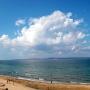 Пляж в поселке Ильич