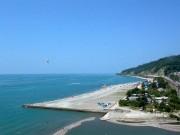 Дагомыс, пляж