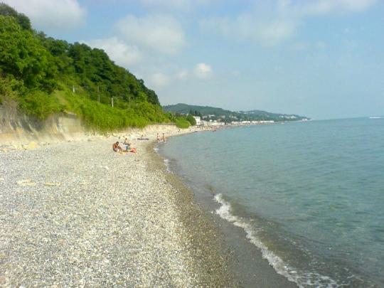 Черное море пляжи