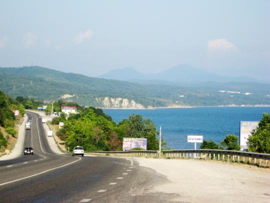 Дорога на Лермонтово
