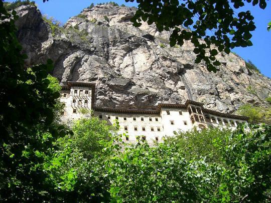 Сумельский монастырь в Трабзоне