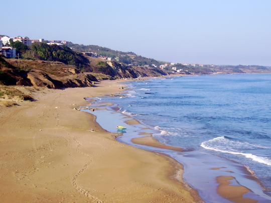 Синоп, пляж